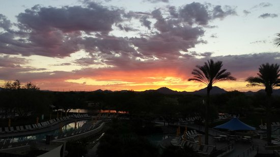 JW Marriott Phoenix Desert Ridge Resort & Spa: Good morning!