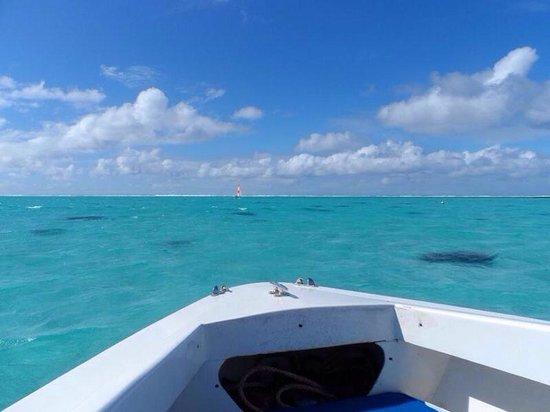 Shandrani Beachcomber Resort & Spa All Inclusive: Private boat hired at the shandrani