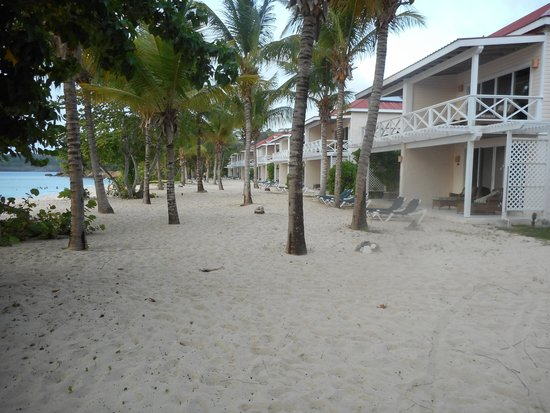 Galley Bay Resort: Our quiet end of the resort