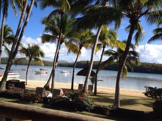 Shandrani Beachcomber Resort & Spa: View from breakfast