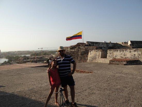 Hotel Capilla del Mar : Vista del Castillo San Felipe