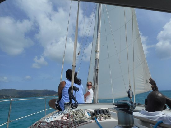 Galley Bay Resort : Our sailing trip