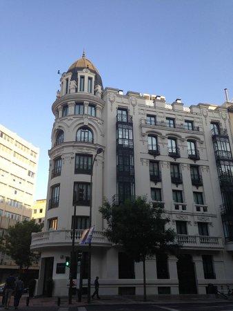 Innside Madrid Luchana: Здание отеля