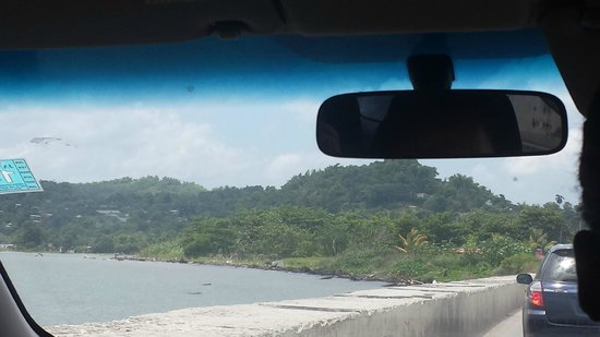 Joe Cool Taxi & Tours Jamaica: Montego Bay view from the car