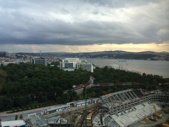 The Ritz-Carlton, Istanbul: View from our room. Soo gorgeous!