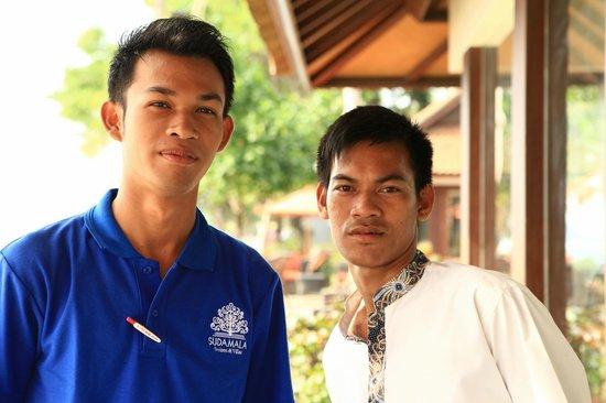 Sudamala Suites & Villas Senggigi: Members of staff