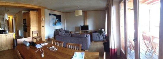 Residence Le Cortina : salotto