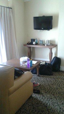 """Westward Look Wyndham Grand Resort and Spa : """"suite"""" area"""
