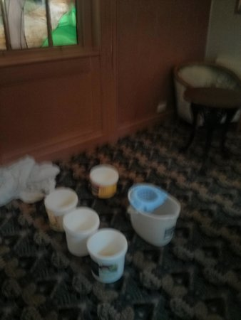 Great Expectations Hotel & Bar: buckets