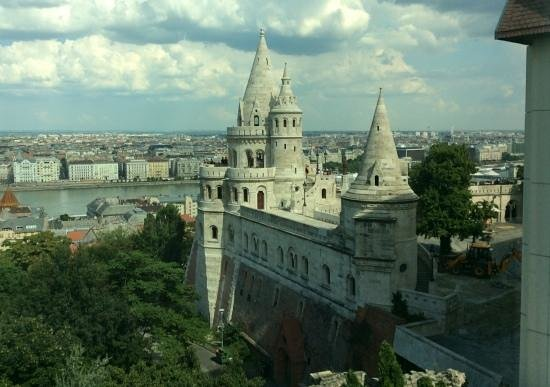 Hilton Budapest - Castle District: view fromthe 3rd floor.