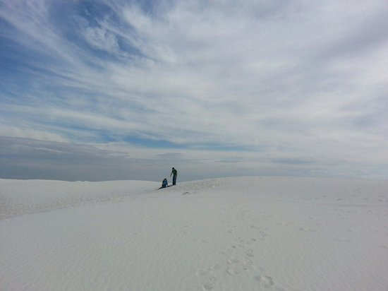 White Sands National Monument : So glad we were able to come here! It was perfect.