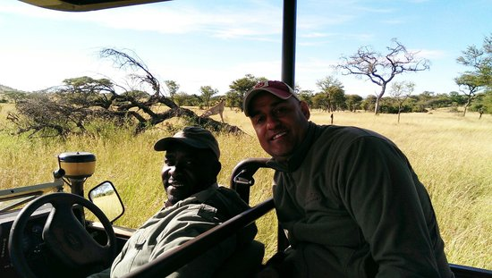 Singita Faru Faru Lodge : Our awesome guide Anthony
