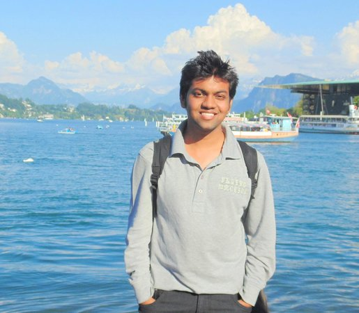 Lake Luzern: this is me, by the way