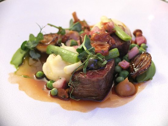 House of Tides: the Northumbria beef - what a dish!