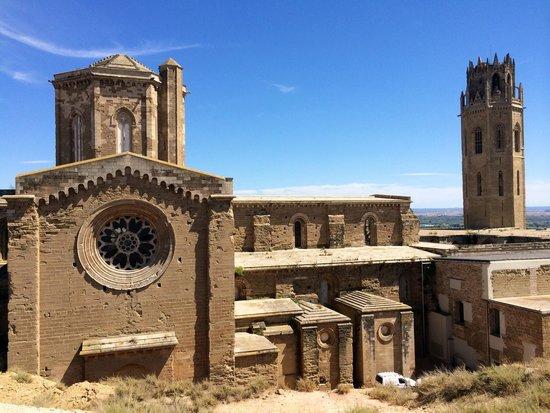 Turo Seu Vella: Foto desde el Castell de La Suda
