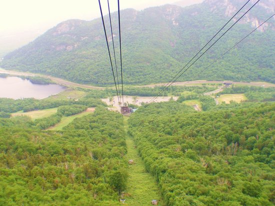 Cannon Mountain: View from the Tram.
