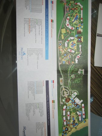 Map Of Royalton Memories Resorts Picture Of Royalton Punta Cana Resort Amp Casino Punta Cana