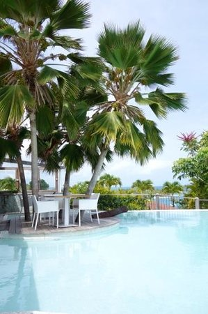 La Toubana Hotel & Spa: Spot magnifique pour dejeuner ! moment priviligié