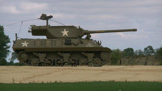 Normandy Tank Museum : ballade en char