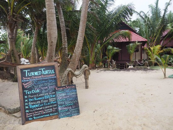 Little Corn Beach and Bungalow : Love that Twisted Turtle