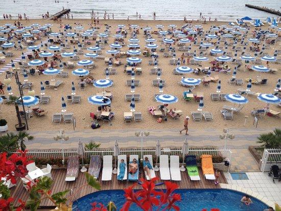 Rivamare Hotel : vista dall'hotel