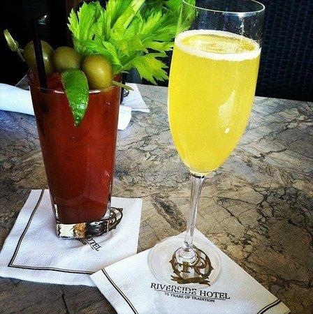 Indigo Restaurant: Bloody Mary & Mimosa, only $3 on Sundays!