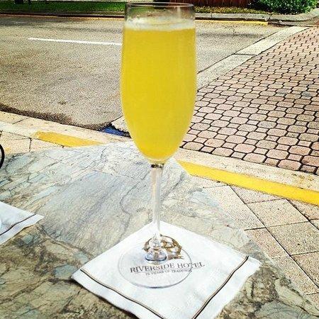 Indigo Restaurant: Mimosa, only $3 on Sundays!