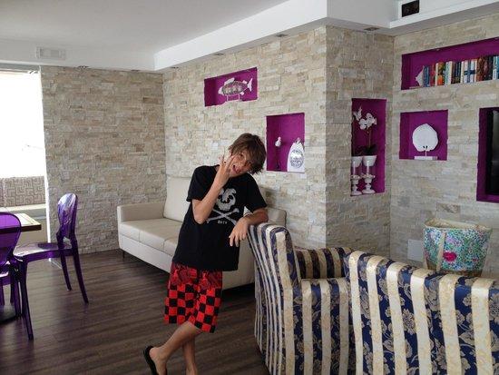 Rivamare Hotel: zona bar