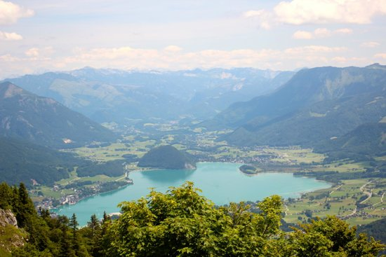 Zwolferhorn Cable Car: Just one of the many beautiful views