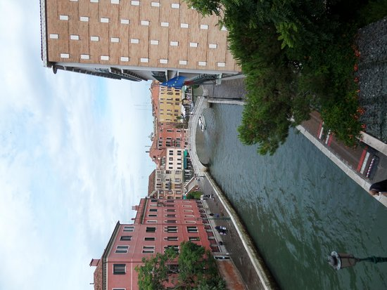 Hotel Moresco : Room with a canal view
