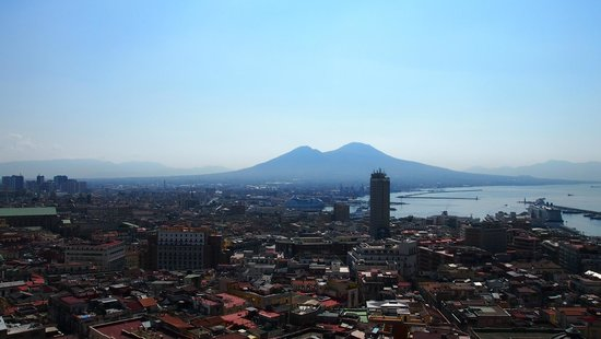 Hotel San Francesco al Monte: vue depuis la terrasse