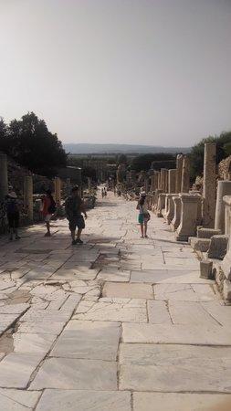 "Ancient City of Ephesus: marble ""main st"""