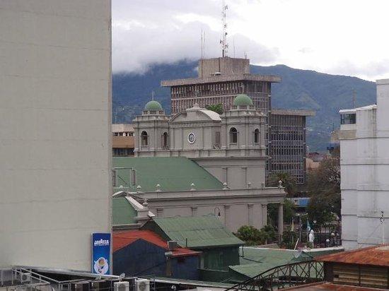 Hotel El Maragato: balcony view to right
