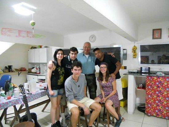 Lapa Hostel: Amigos que fiz no hostel