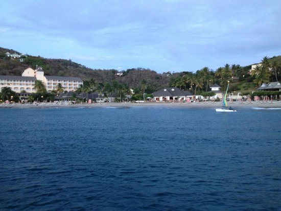 BodyHoliday Saint Lucia: View of Hotel from Boat