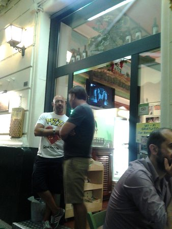Pizzeria Dal Bersagliere: ingresso
