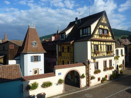 Hostellerie Schwendi: vue de notre chambre