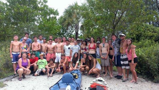 Sea Life Kayak Adventures: Big group? No problemo!