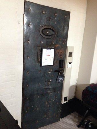 Malmaison Oxford Castle: Our door