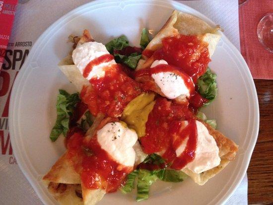 Pizzeria Matteo: Flautas de pollo