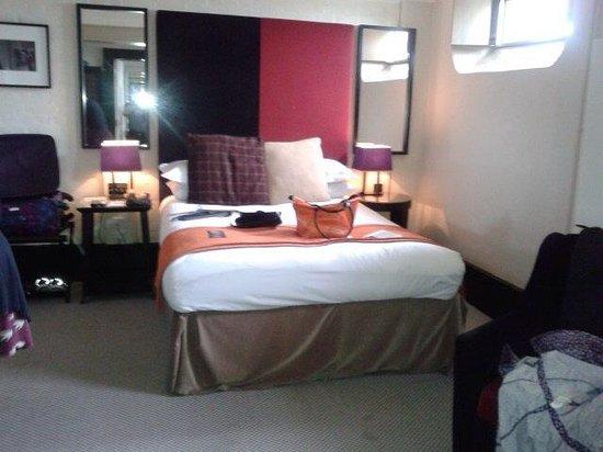 Malmaison Oxford Castle: Our room