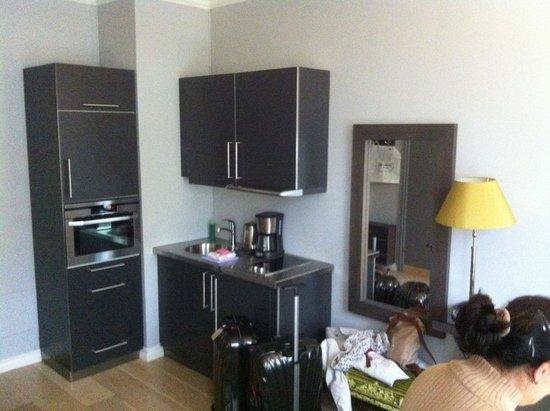 Frogner House Apartments - Skovveien 8: Kitchen corner