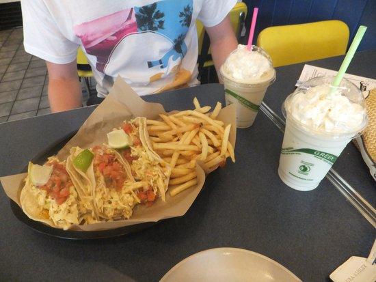Kohala Burger and Taco : Delicious!