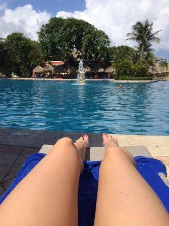 Iberostar Tucan Hotel: The huge pool