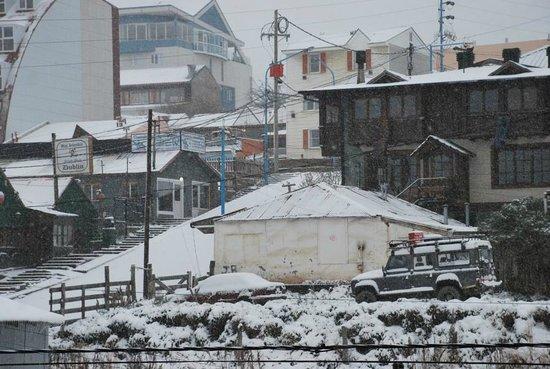 Lennox Hotels Ushuaia: vista desde la habitacion