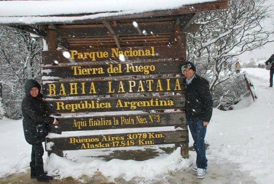 Lennox Hotels Ushuaia: parque tierra del fuego