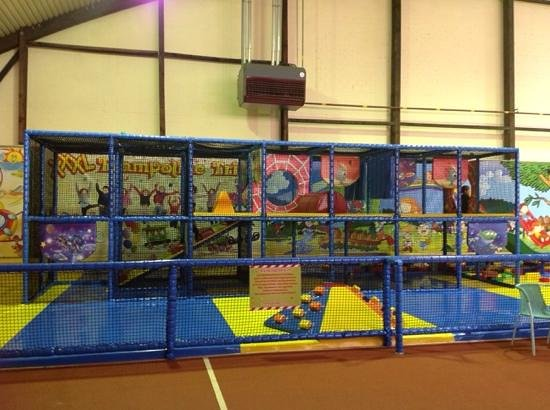 Baby play center picture of trampoline trier trier for Baby play centre