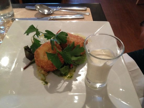 The Riverside Restaurant : Thai-style Crab Cakes