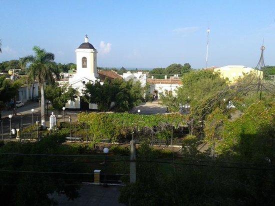 Iberostar Grand Hotel Trinidad : la vue de l'hotel (coté rue)