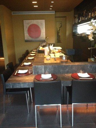 Restaurante Zenart: Sushi bar